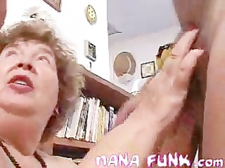nana showing how to blows pounder