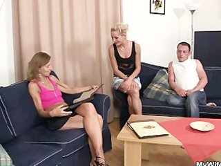 she sees her dude fucking mother in law