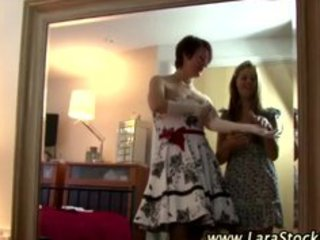 older stocking lesbian foreplay