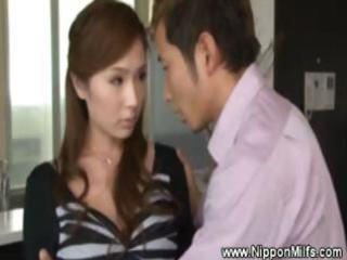 oriental aged mother i acquires sexy and excited