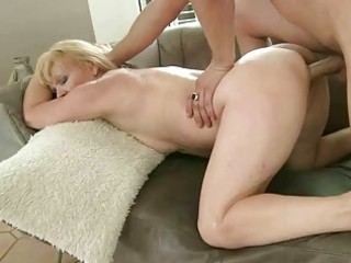 hot granny enjoys good fuck with youthful chap