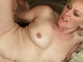 granny enjoys wicked sex with a chap