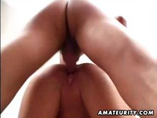 aged amateur wife homemade fucking with spunk