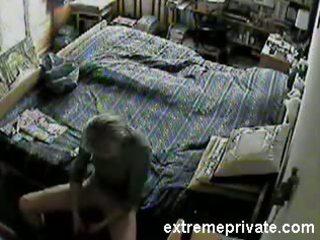 hidden camera my mamma masturbating at home