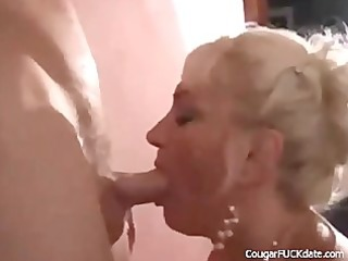 lewd cougar acquires what she is needs