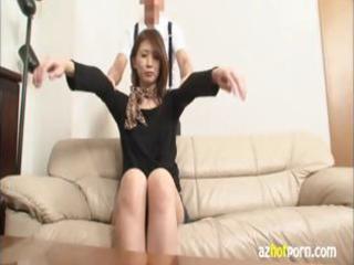 hawt japanese step mama gets an erotic massage