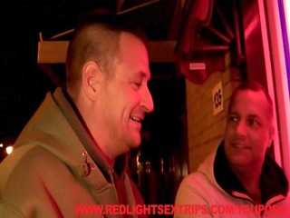 fucking a hooker in the red light district