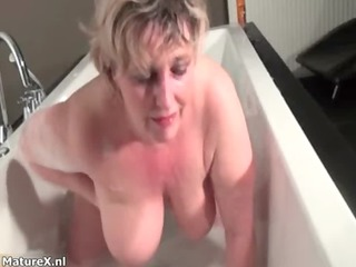 breasty older housewive gets excited