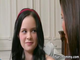 hot teen jenna has a stepmom who fucks her