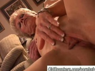 hot granny has a moist pussy