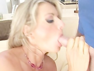 vicky vette blowjob deepthroat ball take up with