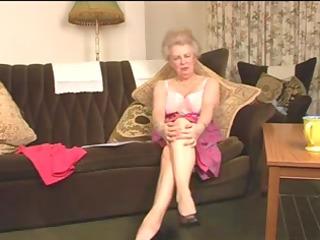 delightsome bushy old granny fingering intro