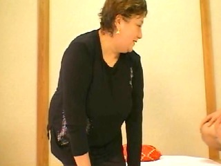 japanese granny with big boobs intro