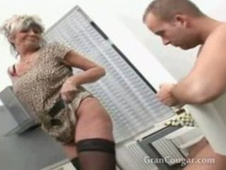sexy old granny craves him now and wont stop til