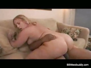 overweight golden-haired analized with bbc