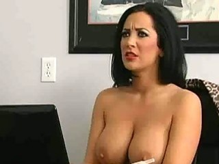 big titty milfs receive trio office fucking
