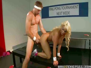 holly copulates after ping pong loss
