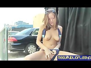 scarlett fay fiery red public flashing pt. 3