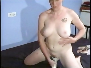 danish babe with perfectly white skin receives