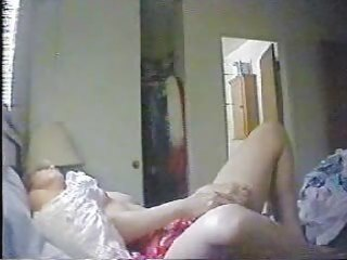 hidden cam catches mummy masturbating in her