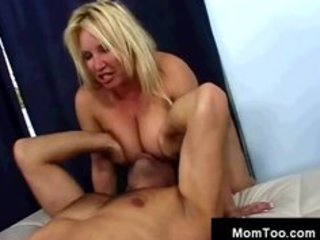 milf plowed doggy in front of daughter