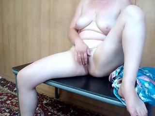 aged hawt mother i selfshot masturbation