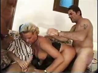 breasty blond mother i gangbang