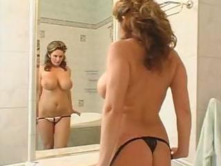 very busty milf jean receives room serviced