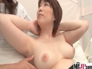 hawt hot horny japanese milf acquire banged on