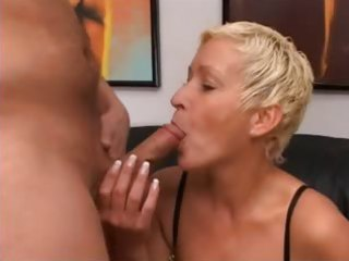 blond aged having cunt fisted hard