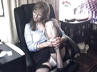 lovely granny with glasses 1