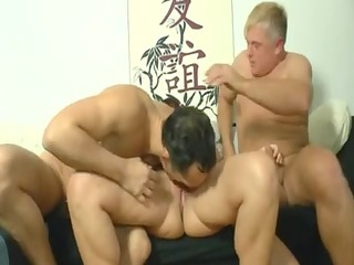 wicked german mommy takes it by two dudes on the