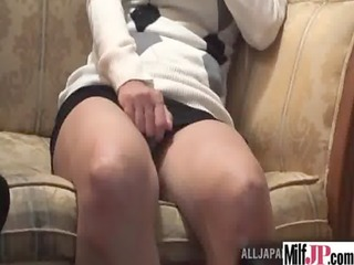 sexy hawt japanese milf acquire drilled hard