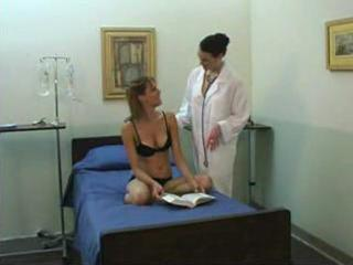juvenile hotty and aged lesbo doctor