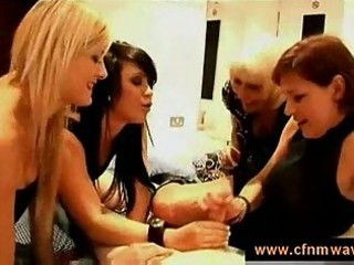 mothers and daughters jerking a schlong