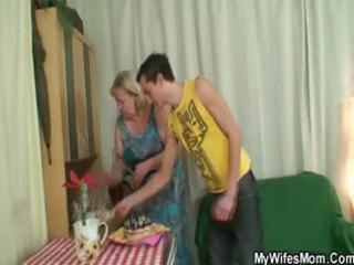 dude fucking his fat mother in law and his wife