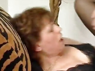 stiff dong for aged german lady